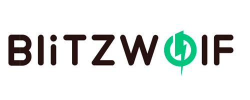 logotipo de blitzwolf, tecnología