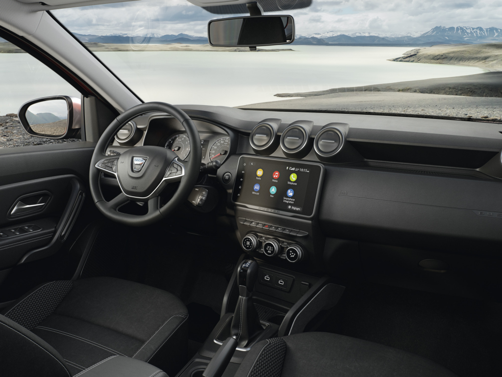 Interior del nuevo Duster 2022