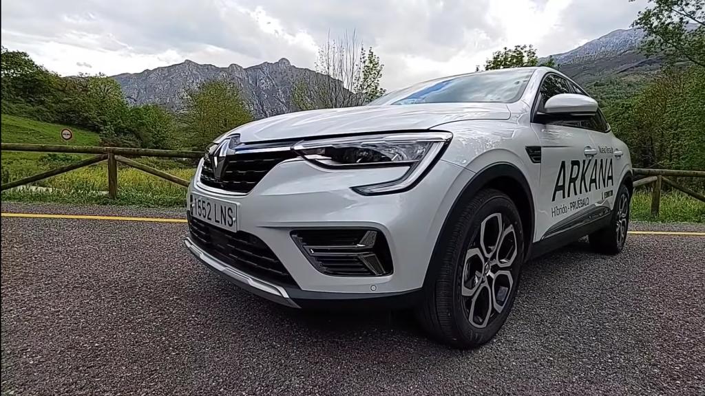 Frontal del Renault Arkana