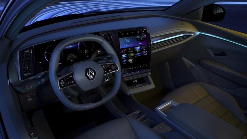 interior del Nuevo Mégane E-TECH 100% eléctrico