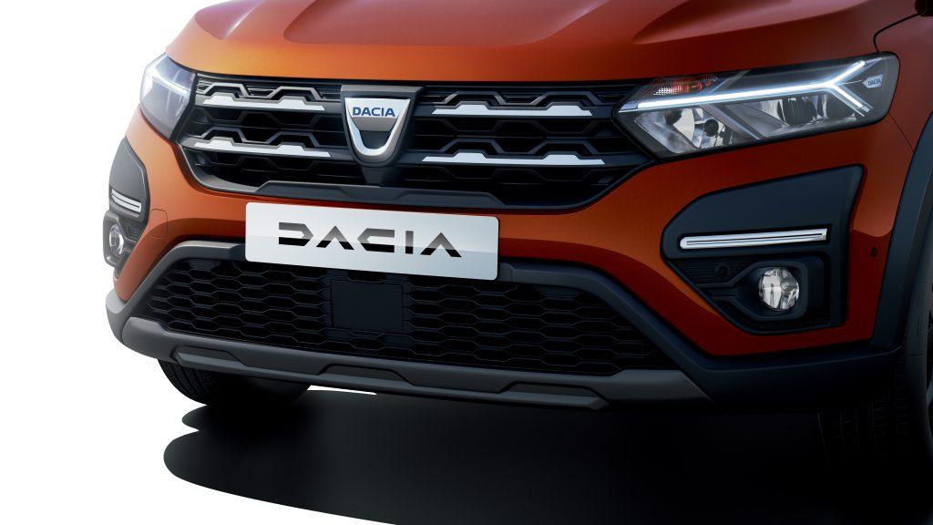 Delantera del nuevo Dacia Jogger