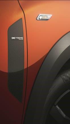Paso de rueda del nuevo Dacia Jogger EXTREME